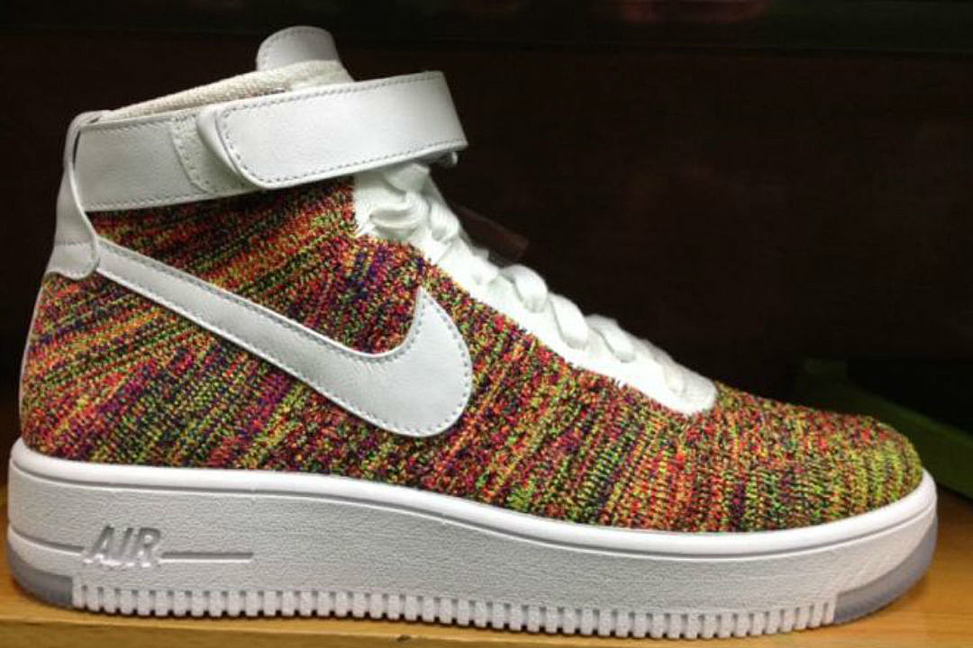 Nike Air Force 1 Multicolor Flyknit - XXL