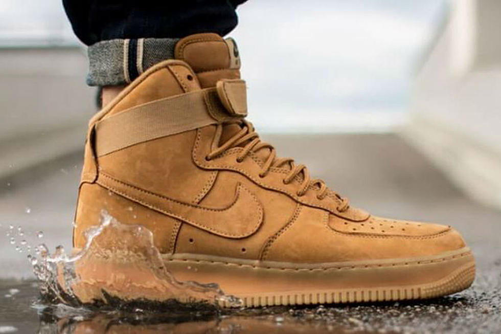 "secuestrar ideología tolerancia  Nike Air Force 1 High ""Wheat"" - XXL"