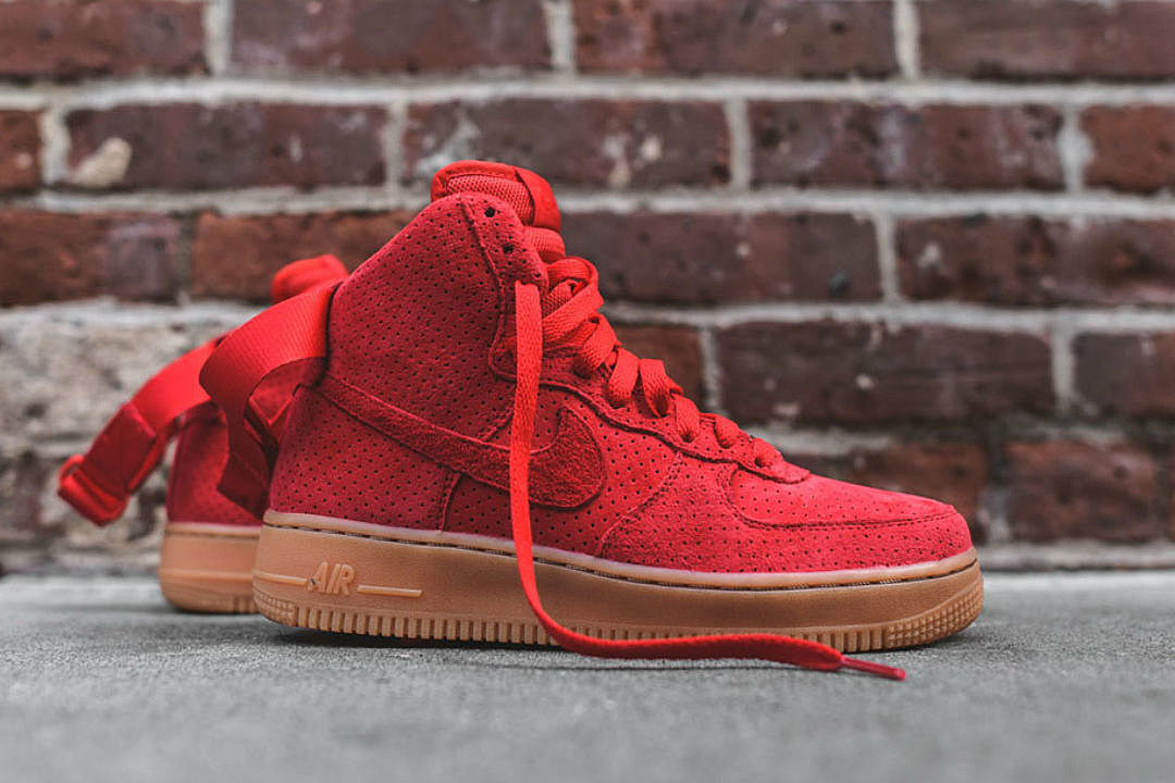 Nike Air Force 1 High Suede - XXL