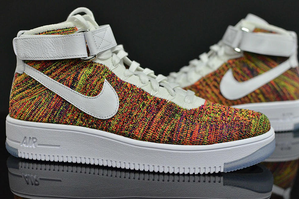 """Picasso guerra Enemistarse  Nike Air Force 1 Flyknit """"Multi-Color"""" Release Date - XXL"""