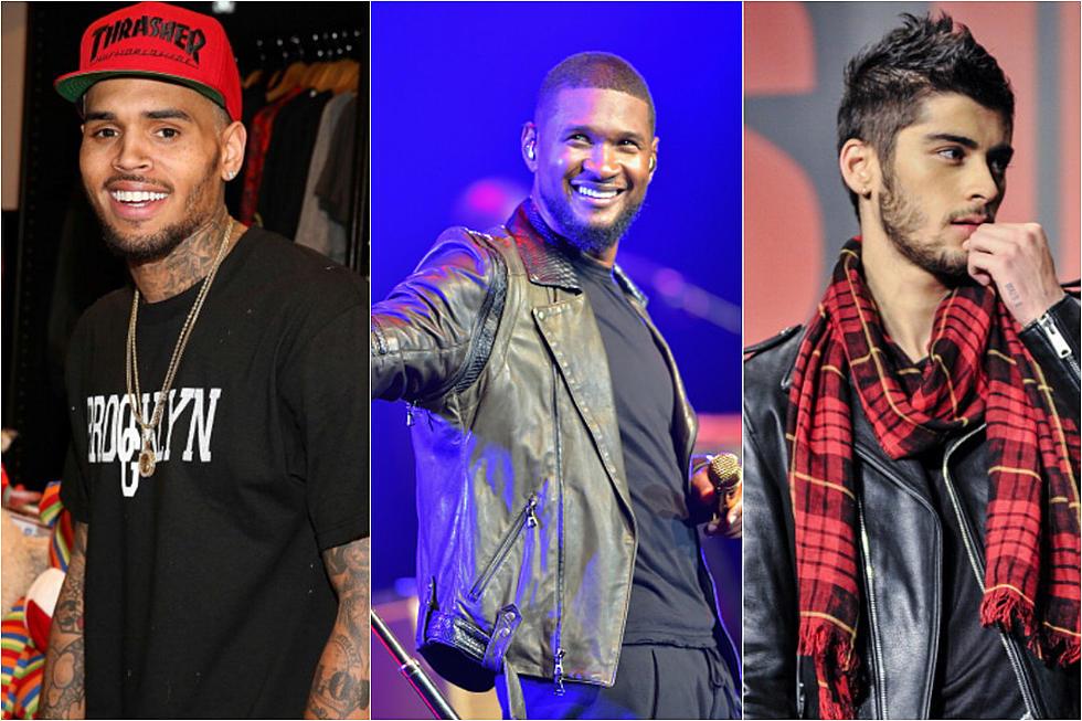 Chris Brown Name-Drops Karrueche Tran in