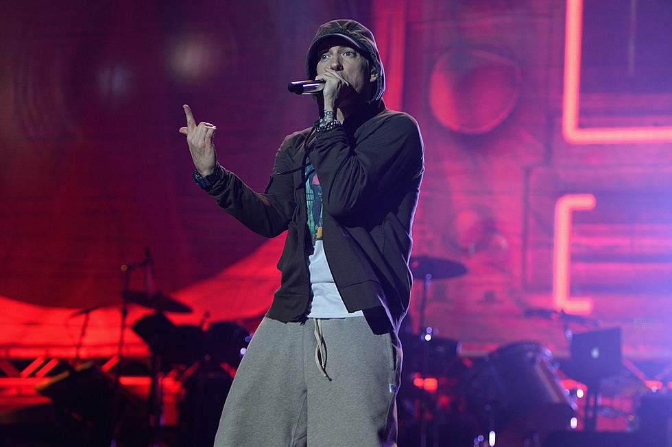 Eminem Couldn't Hear His Snare on