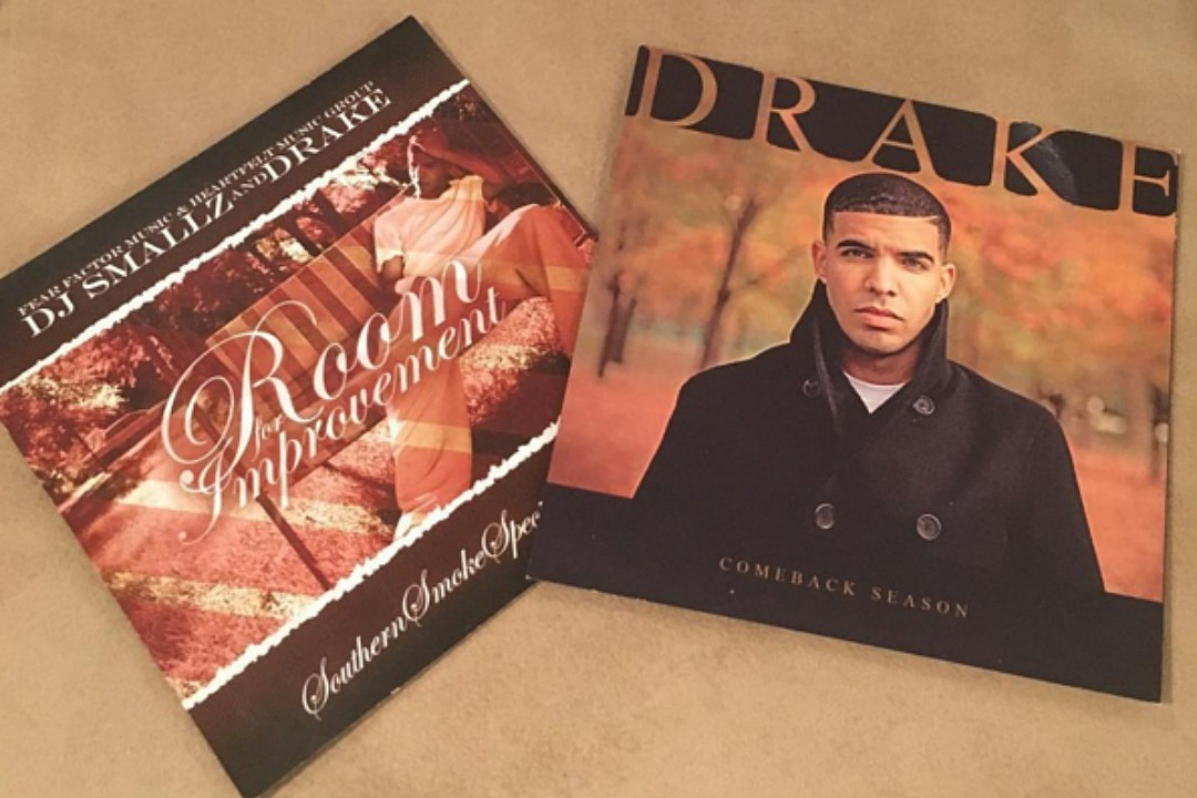 Drake Teases Vinyl Reissues of 'Room for Improvement' and