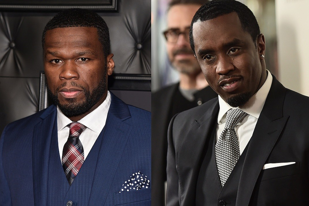 50 Cent Claims Diddy Gets Botox Shots at DJ Drama's Album Release