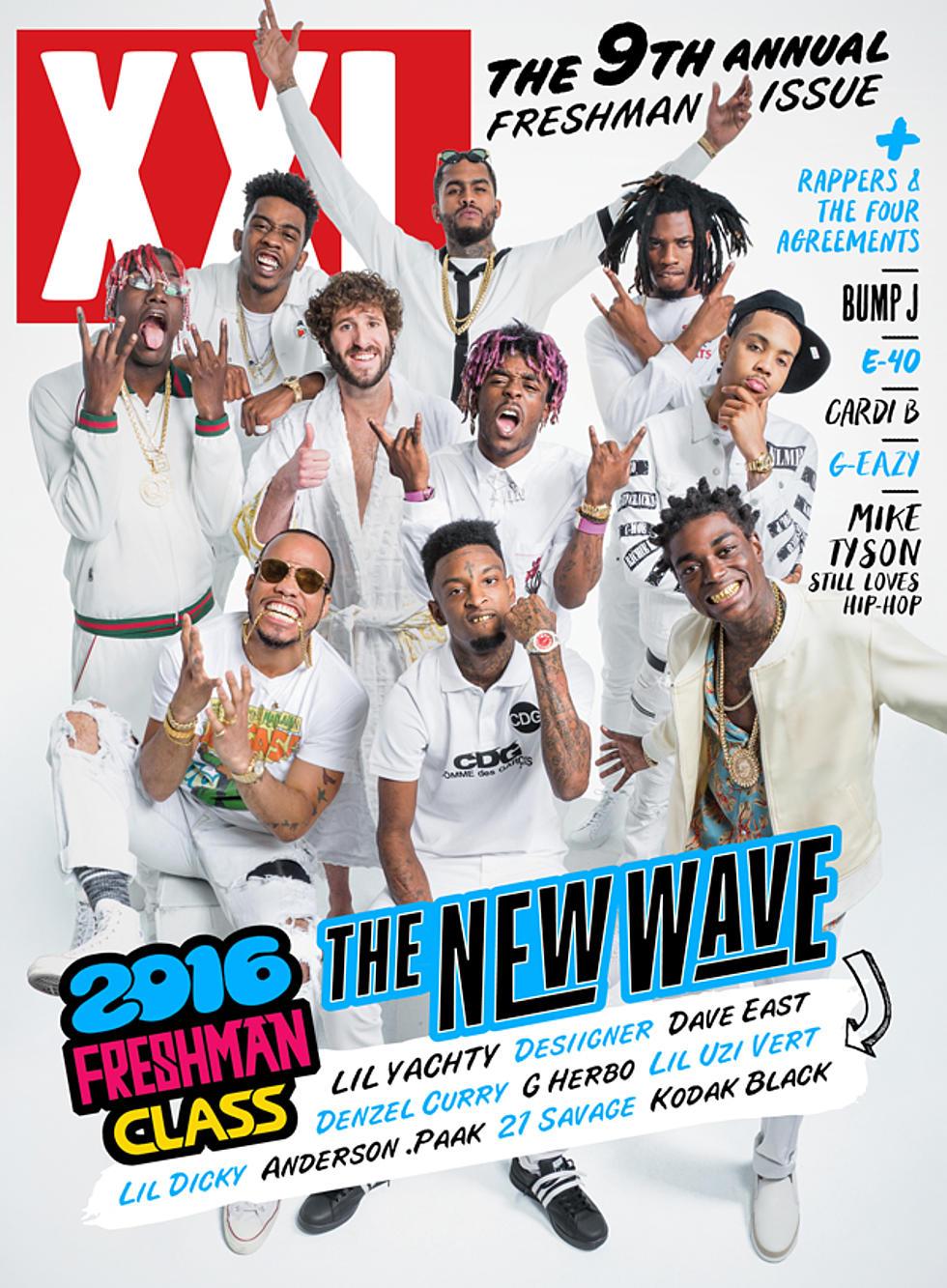 2016 XXL Freshman Class Cover - XXL