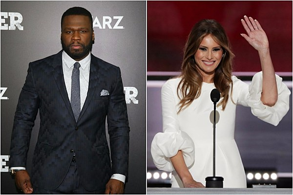 50 Cent Doesnt Think Donald Trumps Porn Star Wife Melania Trump Will Be First -4053