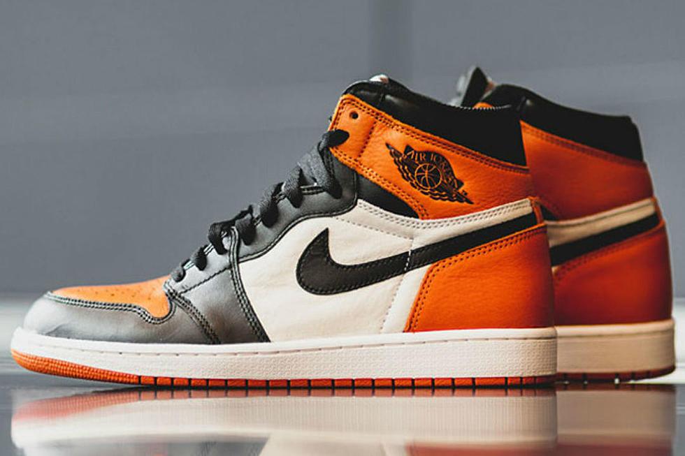best sneakers 2a9c5 c4359 Air Jordan 1 Shattered Backboard Sneaker to be Restocked - XXL