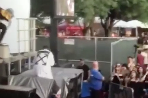 Jeremih Falls After Accidentally Stepping on Speakers at