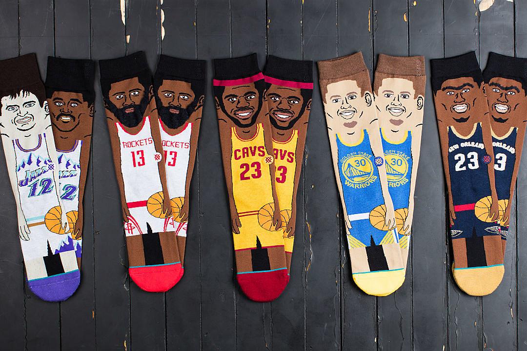 Stance Announces New NBA Cartoon Socks - XXL 022a9e71e8ca