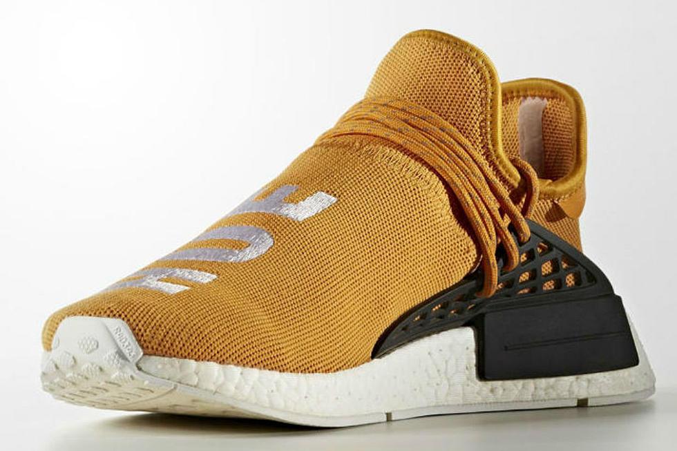 official photos fe8bf 69f96 Pharrell x Adidas NMD Human Race Tangerine - XXL