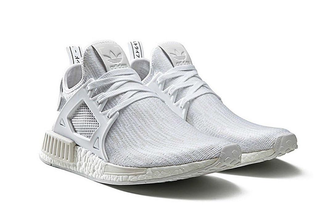 Adidas Unveils Triple White NMD XR 1 Sneaker - XXL