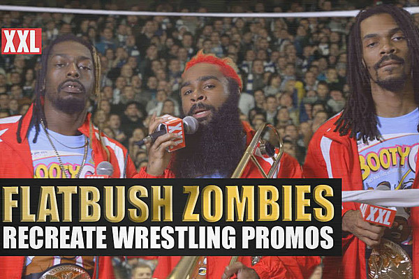 Flatbush Zombies Recreate A Hilarious New Day Wrestling