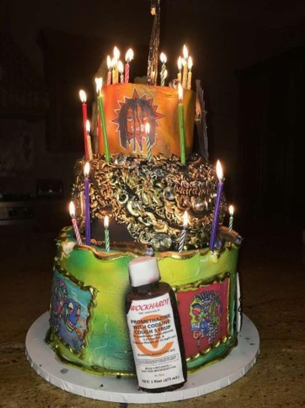 Superb Chief Keef Gets Ridiculous Birthday Cake Xxl Personalised Birthday Cards Petedlily Jamesorg