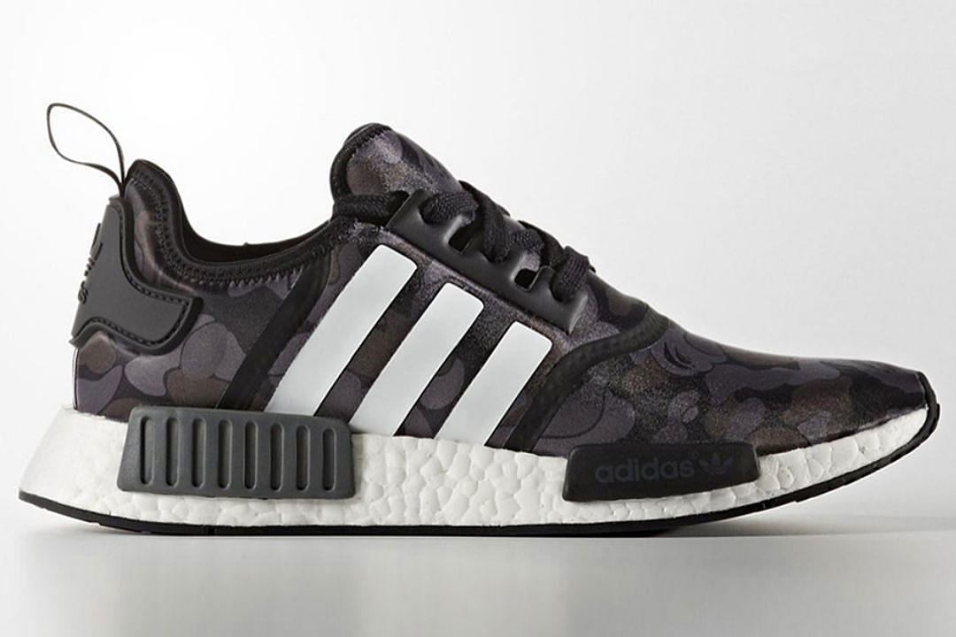 best authentic ff322 e0773 A Bathing Ape x Adidas NMD R1 Drops in November - XXL