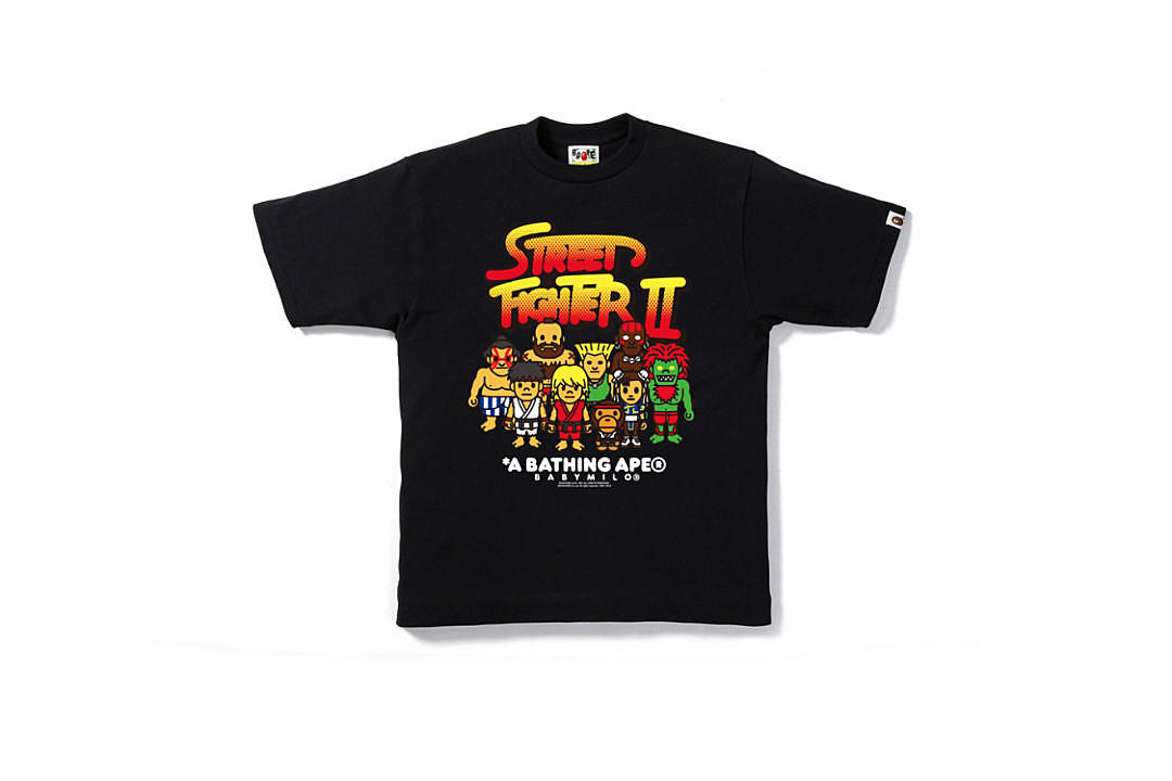 1d5a52be A Bathing Ape Unveils Street Fighter Collection - XXL
