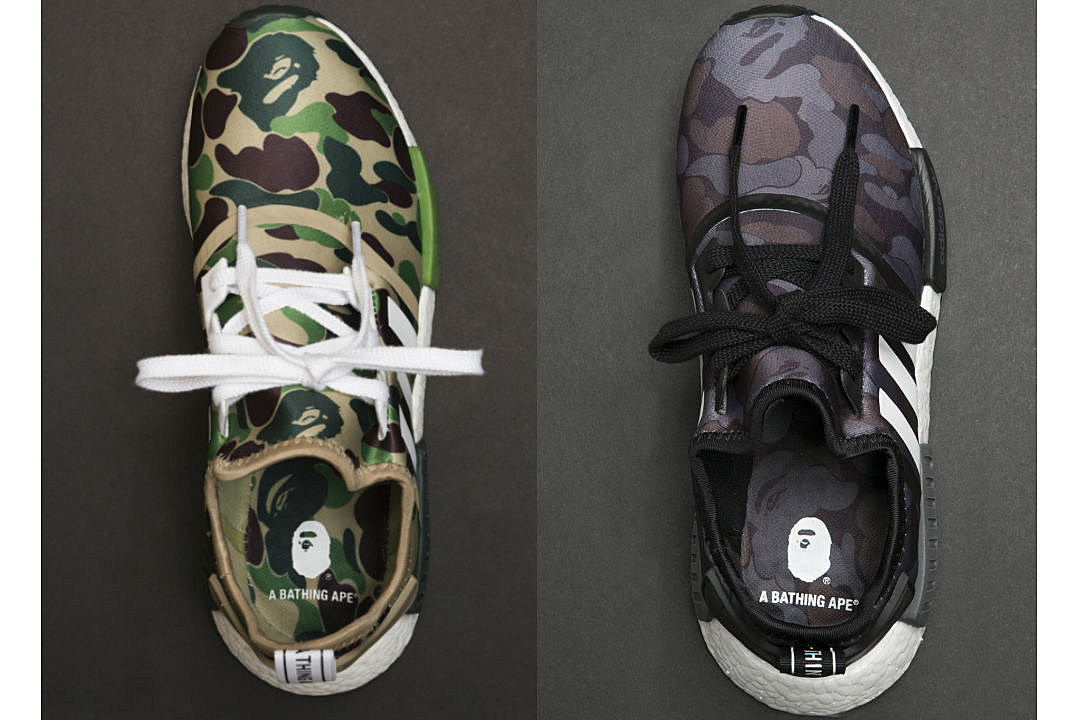 reputable site 40a4c 4a958 Here s a Closer Look at the Bape x Adidas NMD R1 Collaboration