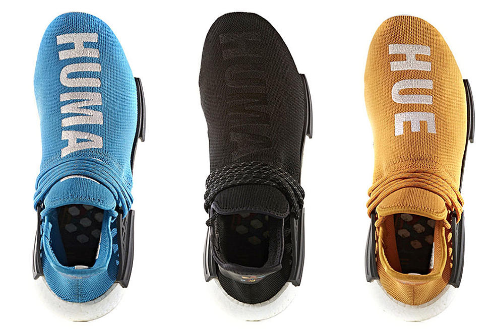 quality design 7f657 16855 Adidas Originals to Release Five New Pharrell Human Race NMD ...