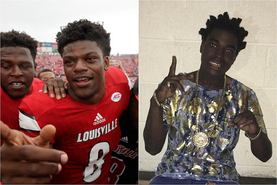 sports shoes 2818a 6db3a Louisville Cardinals Quarterback Lamar Jackson Says Free ...