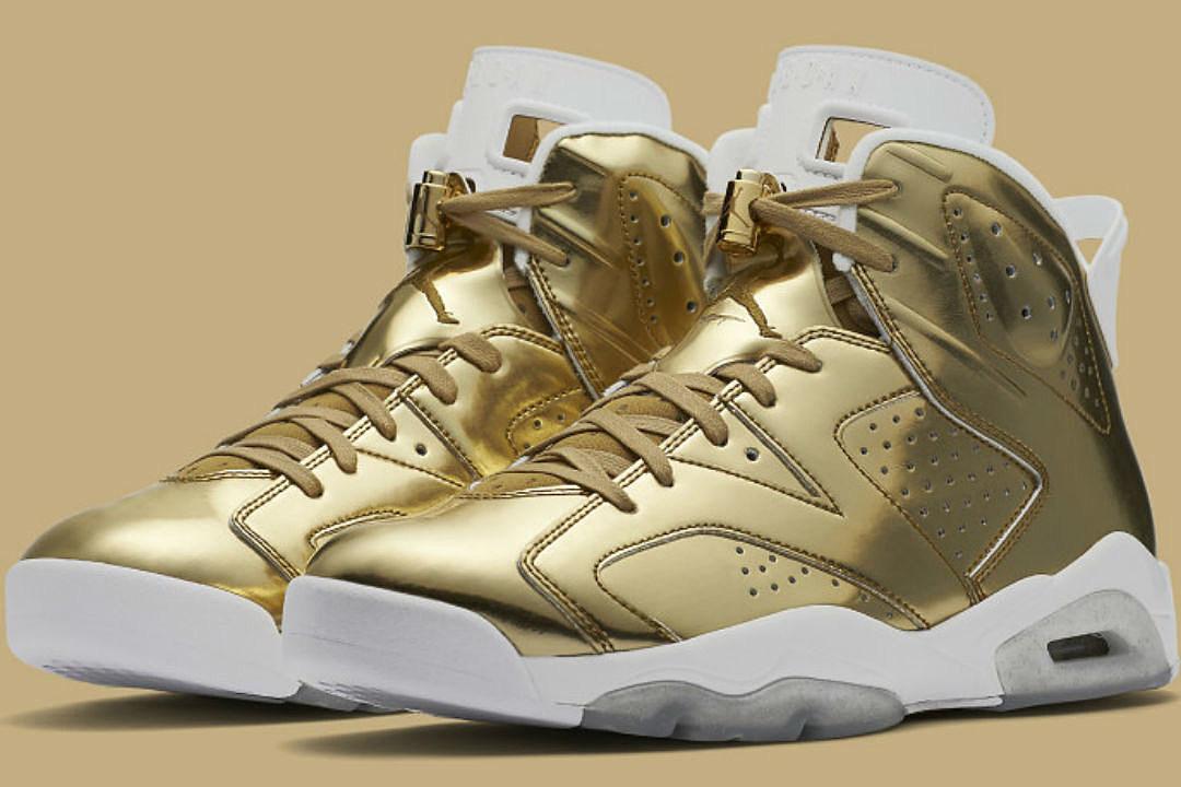 4ba972937340f4 Air Jordan 6 Retro Pinnacle Metallic Gold Sneaker Drops This Weekend ...