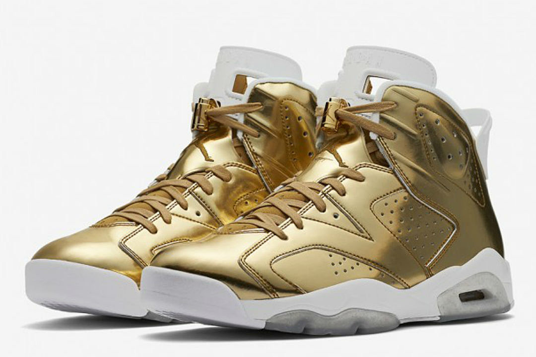 8ccc6ee68e477d Top 5 Sneakers Coming Out This Weekend Including Air Jordan 6 Retro Pinnacle  Metallic Gold and SoleFly x Air Jordan 23 More