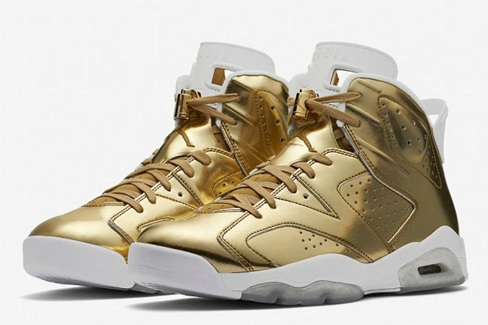 2f0b4c58776a Top 5 Sneakers Coming Out This Weekend Including Air Jordan 6 Retro Pinnacle  Metallic Gold and SoleFly x Air Jordan 23 More