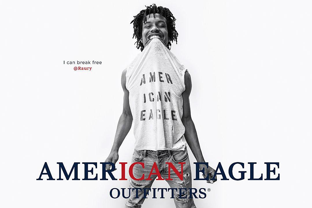 c1e78fea Raury Stars in American Eagle's Fall 2016 Campaign - XXL