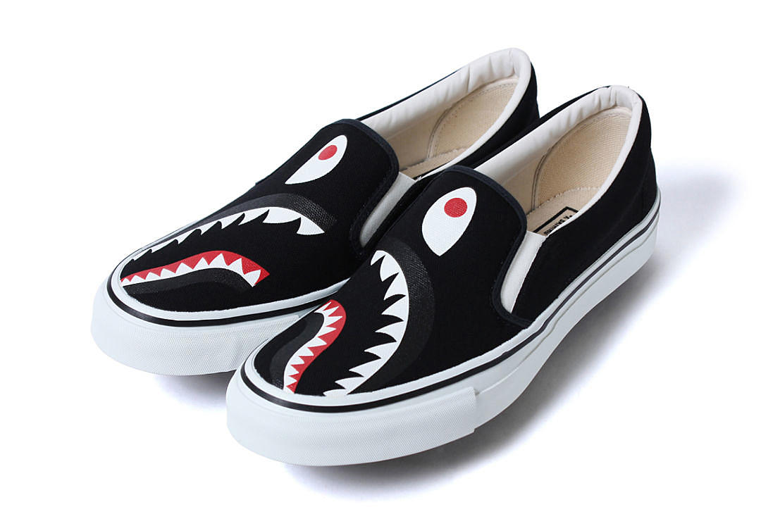 92b8f6bc3a1f Bape Releases New Shark-Inspired Footwear - XXL