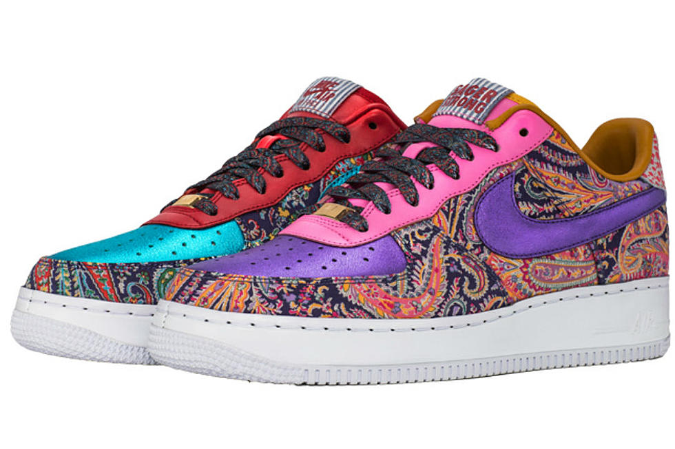on sale 74973 03ee9 Nike Made a Limited Edition Air Force 1 Sneaker for Craig Sager