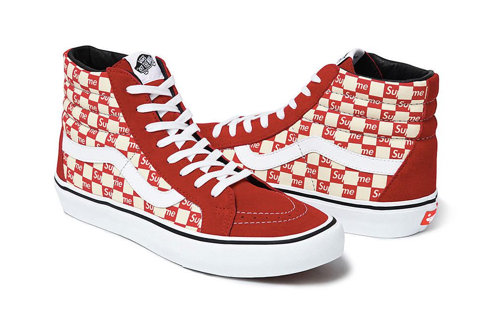 Vans And Supreme Team Up For 2016 Fall Winter Collection
