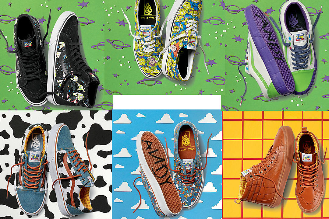 a4adaef90f5bb0 Vans Officially Announces Toy Story Collaboration - XXL