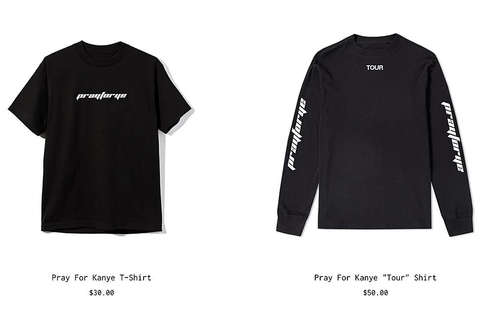 Disgusting Pray for Ye Merch Pops Up the Day After Kanye