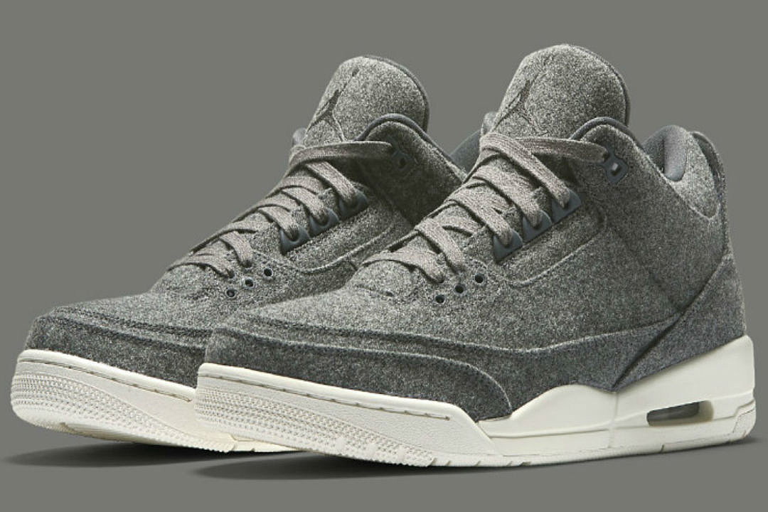 b49b008af16f Air Jordan 3 Retro Wool to Release Next Weekend - XXL