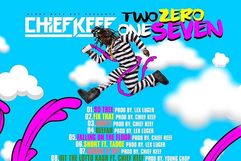 Here's the Tracklist for Chief Keef's 'Two Zero One Seven