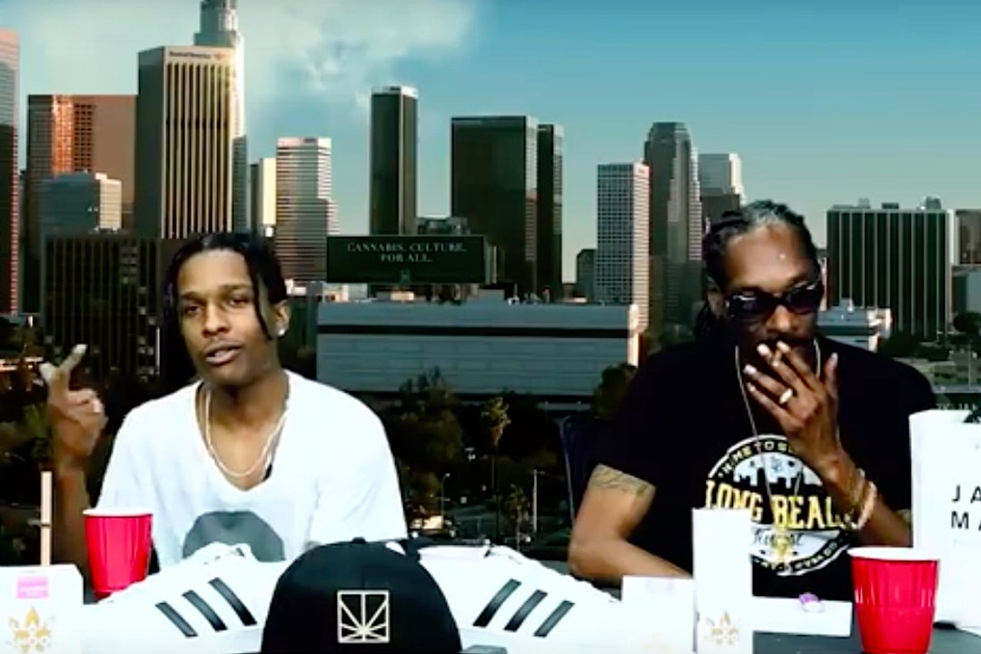 e9a3d96ef Snoop Dogg and ASAP Rocky Freestyle Over Mobb Deep Beat - XXL