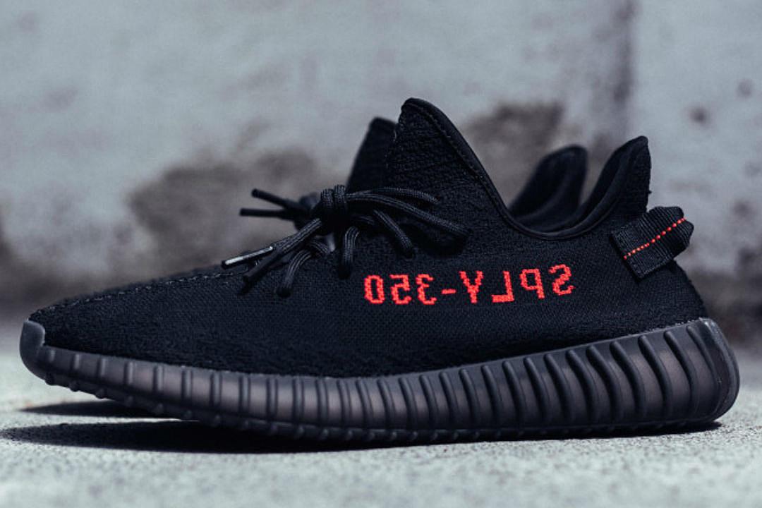 new black yeezy 350 v2