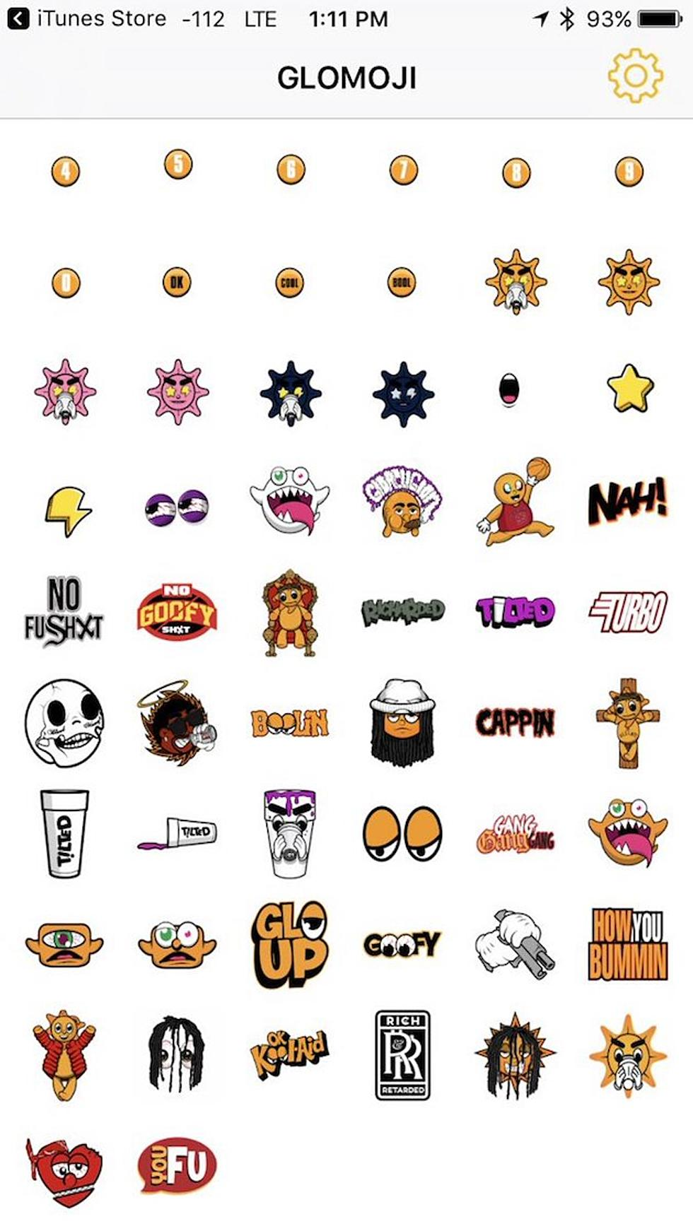 Chief Keef Drops His Own Glomoji Emoji Pack - XXL