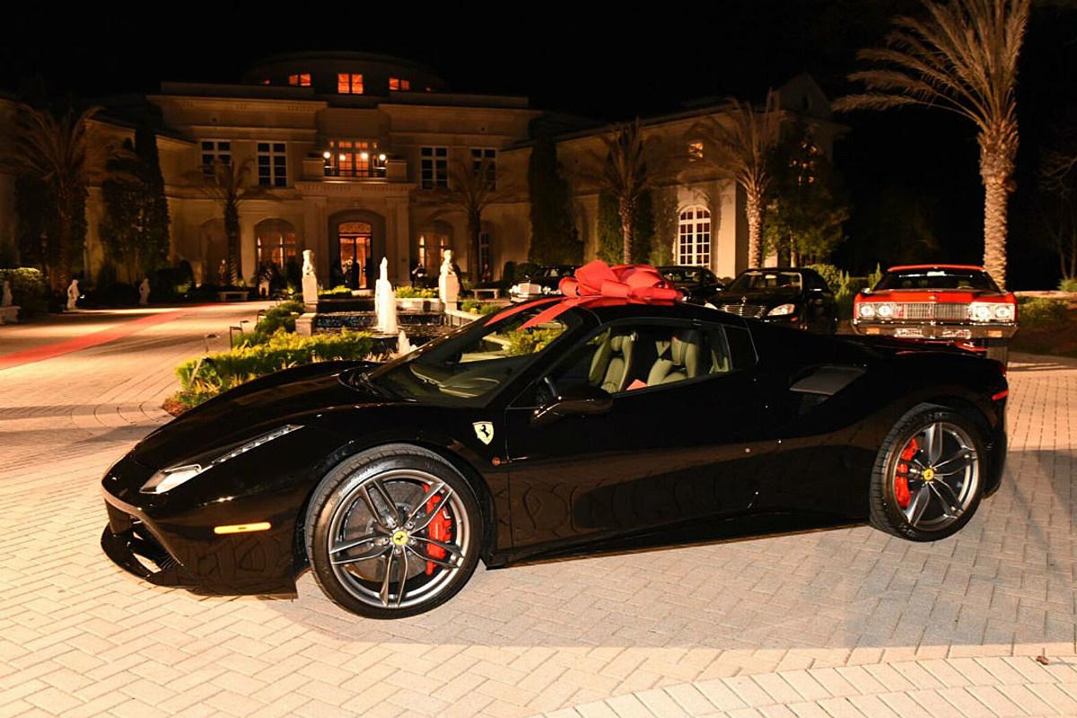 Rick Ross Gets A New 2018 Ferrari For His Birthday Xxl