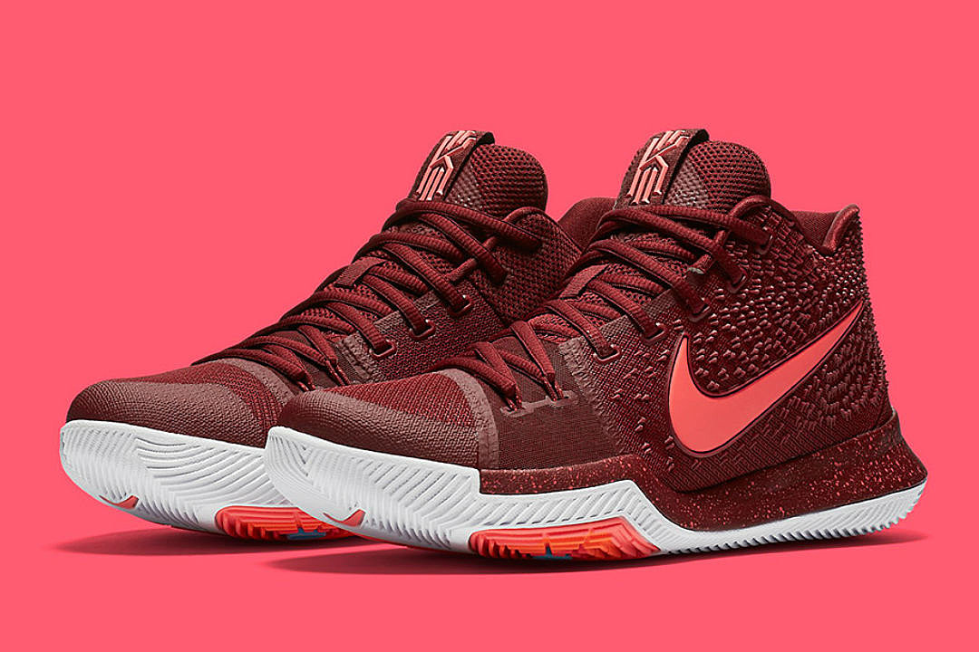 c39c36f3ff59 Nike Unveils the Kyrie 3 Team Red Sneakers - XXL