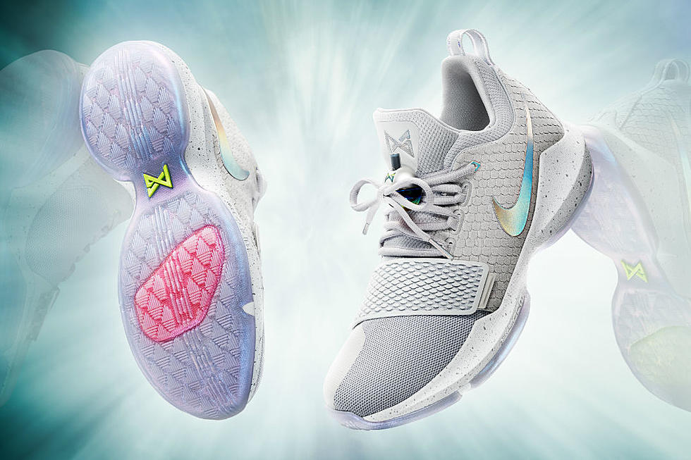 62aa6277623d Nike and NBA Player Paul George Tease the PG1 Sneaker - XXL