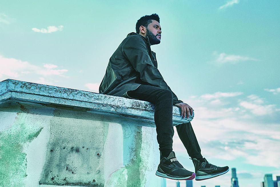 vente chaude en ligne 44ab0 a5c86 The Weeknd Stars in Puma's Latest Campaign Ad - XXL