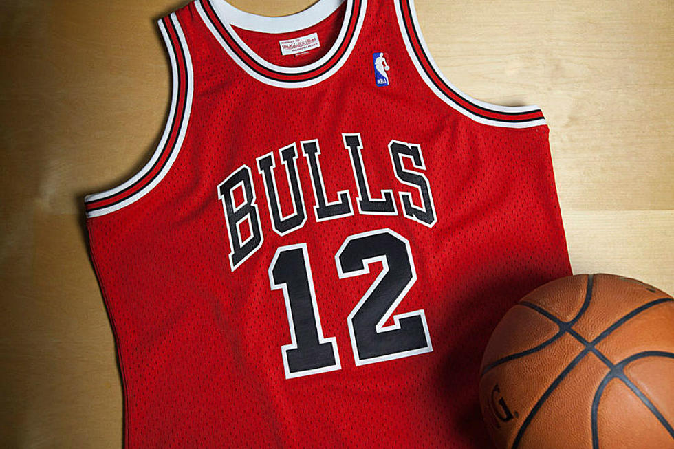 sale retailer e0281 7730c Mitchell & Ness Release Rare Michael Jordan No. 12 Chicago ...
