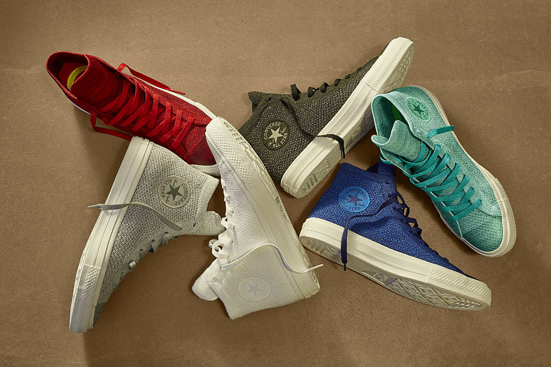 Converse Unveils Chuck Taylor Nike Flyknit Collection XXL