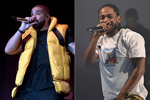 Drake and Kendrick Lamar Among Spotify's Most Streamed Artists of 2017