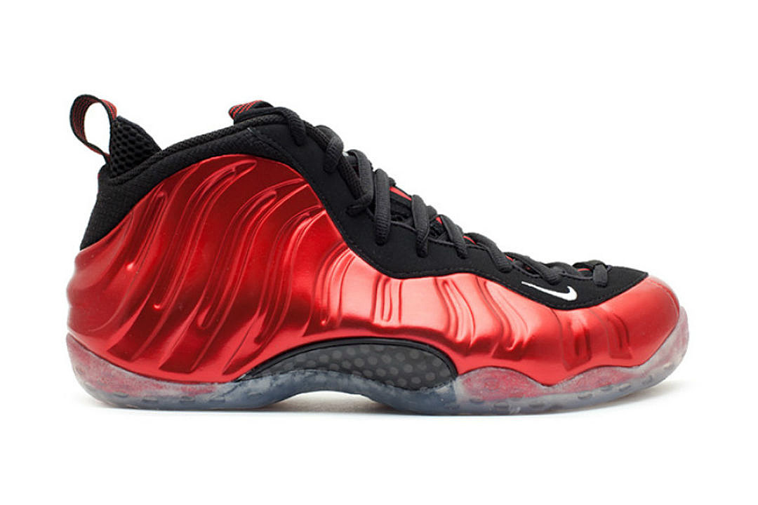the best attitude 264df 310f9 Nike to Release Metallic Red Air Foamposite One Sneakers - XXL