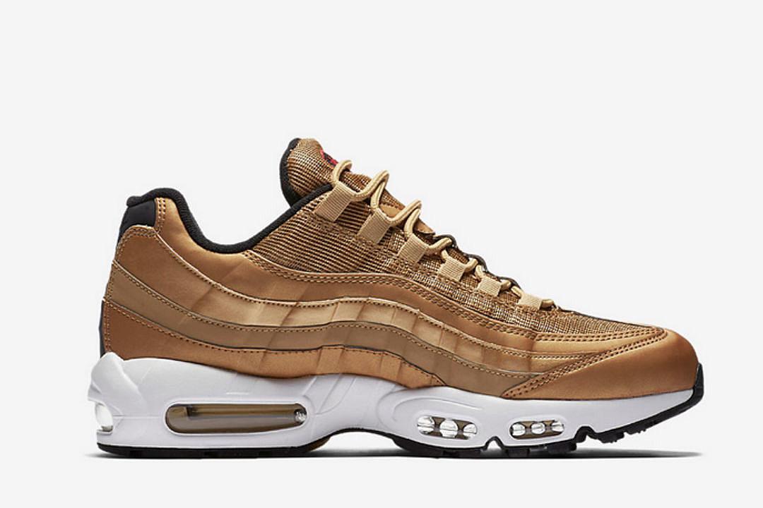 Nike to Release Metallic Gold Air Max 95 XXL