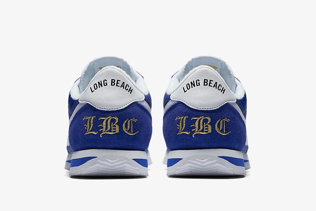 Long Beach Cortez Basic Nylon Sneakers