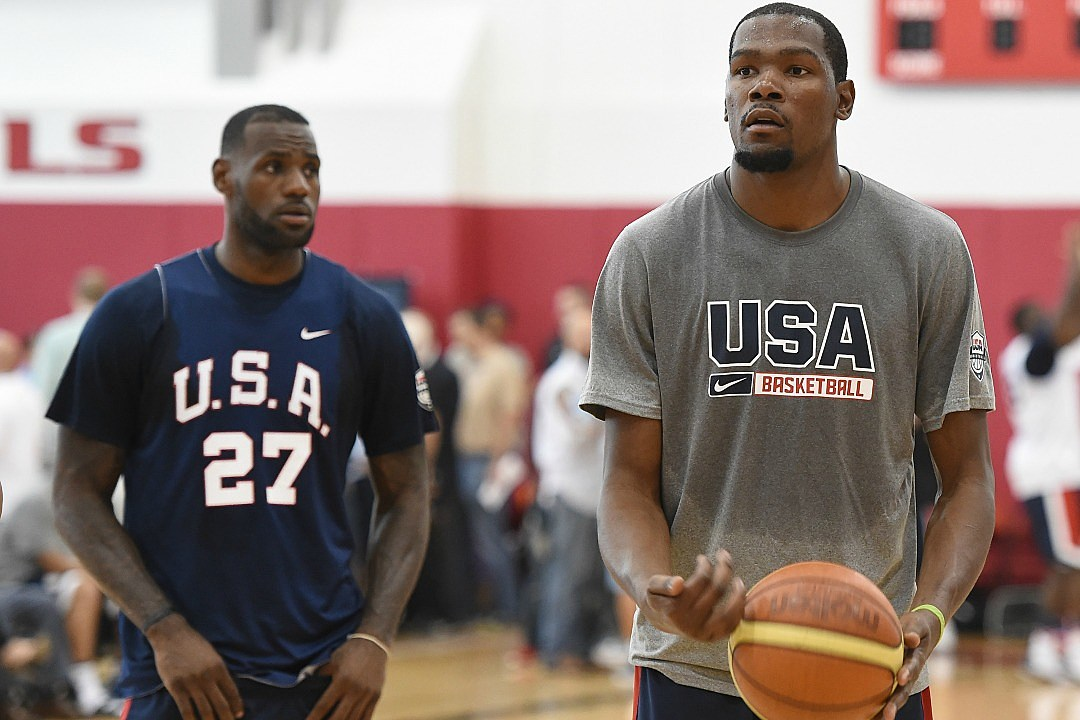 69f044da465b LeBron James and Kevin Durant Once Made a Rap Song Together - XXL