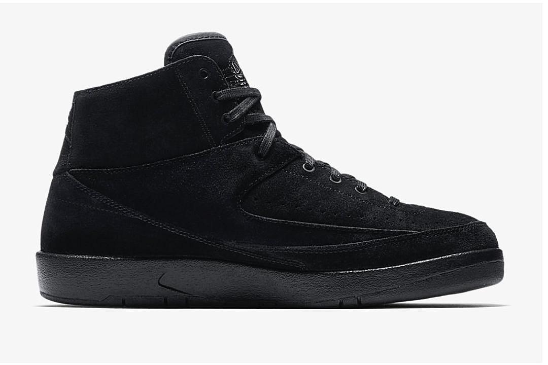 02068641e1fc Air Jordan 2 Retro Decon Triple Black Release Date