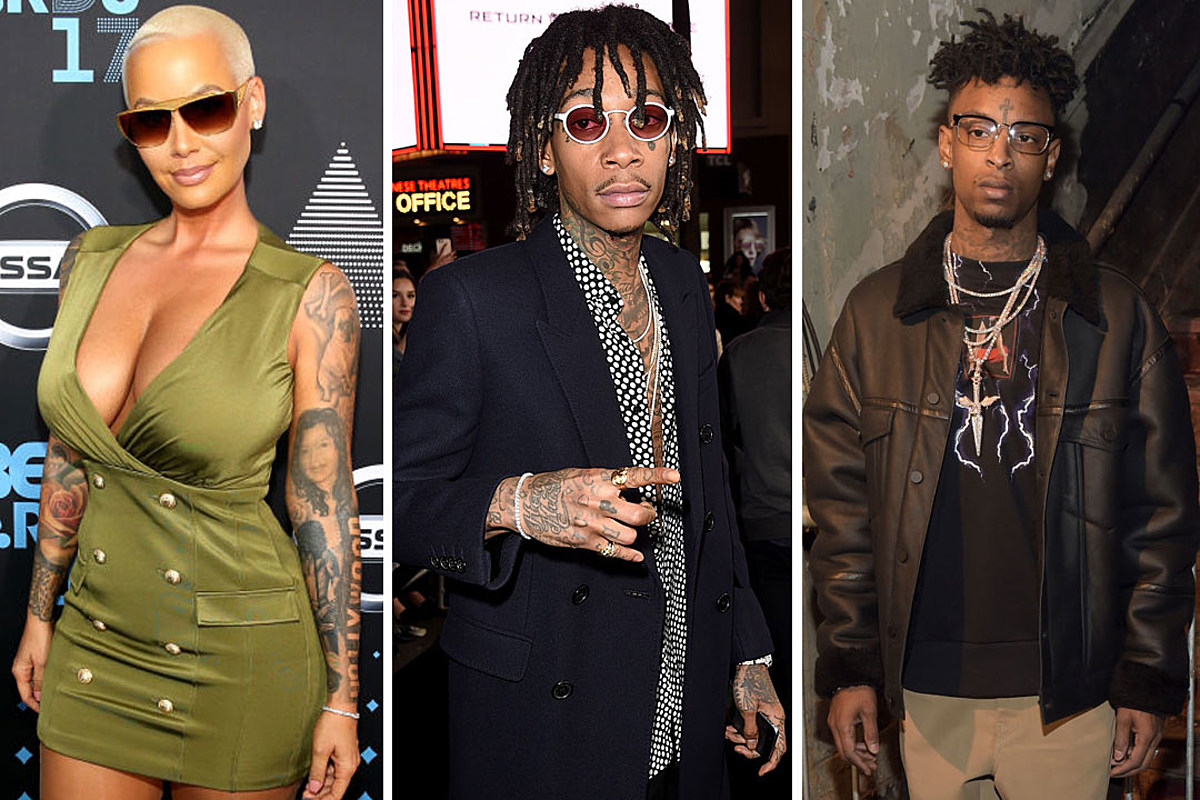 wiz khalifa is cool with 21 savage dating amber rose xxl cool with 21 savage dating amber rose