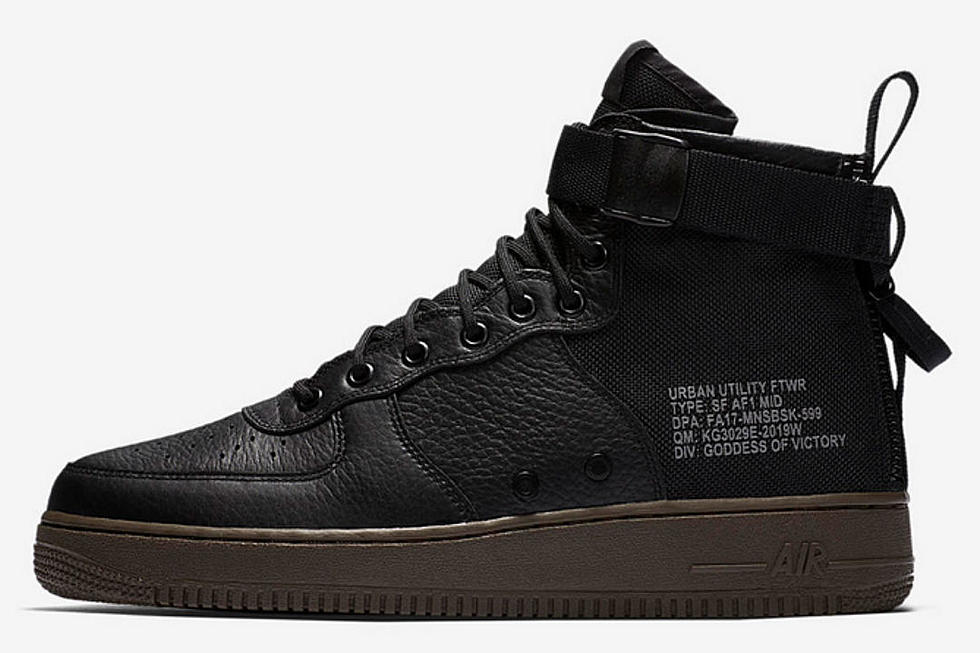 separation shoes 4b1ee 3674b Nike Unveils SF Air Force 1 Mid Urban Utility Sneakers - XXL